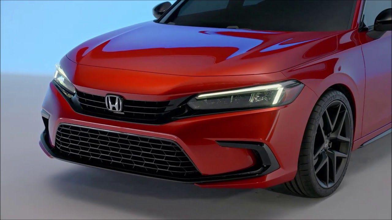2022 New Honda Civic Premiere Honda Devoille New Honda Honda Civic Honda