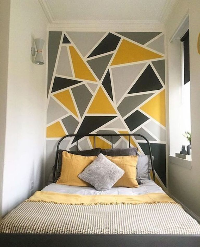 133 Best Diy Bedroom Wall Decoration 90 Wall Decor Bedroom Bedroom Wall Paint Bedroom Wall Designs
