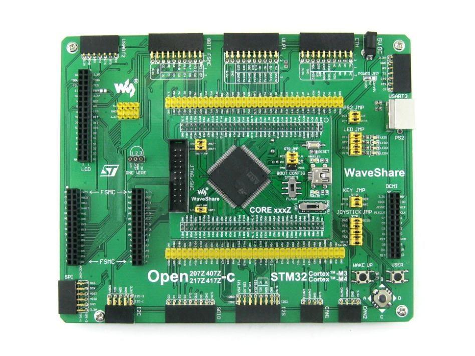 Free Shipping STM32 Board STM32F407ZxT6 ARM Cortex-M4 Development