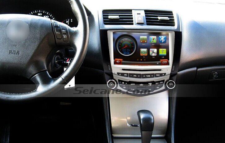 2003 2004 2007 Honda Accord Radio With Dvd Gps Navigation Installation