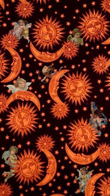Angel Wallpaper Sun And Moon Trippy Wallpaper Lock