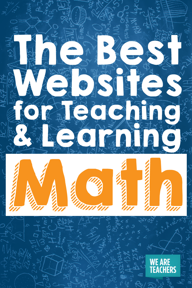 The Best Websites for Teaching and Learning Math | Math websites ...