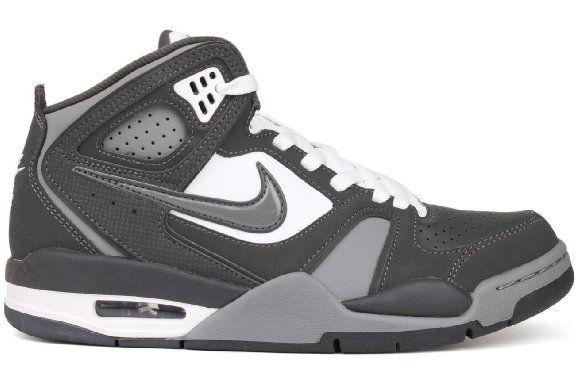 547a2f4cf24 Amazon.com: Nike Men's NIKE AIR FLIGHT FALCON BASKETBALL SHOES 9.5 Men US  (ANTHRCT/CL GRY/WHITE/ANTHRCT): Shoes