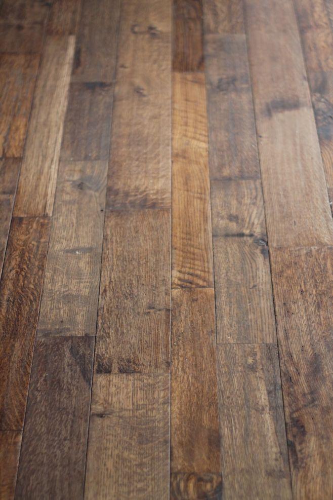 Hand Scraped Flooring Creates A Unique Look So Unique That It