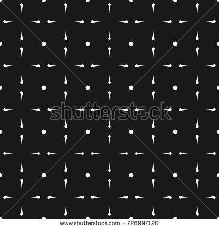 Vector Minimalist Geometric Pattern With Simple Shapes, Lines, Octagons In  Square Grid. Abstract