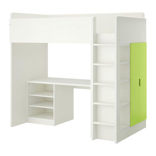 ikea stuva hochbettkomb 2 b den 2 t ren wei gr n dieses hochbett wird philipp. Black Bedroom Furniture Sets. Home Design Ideas
