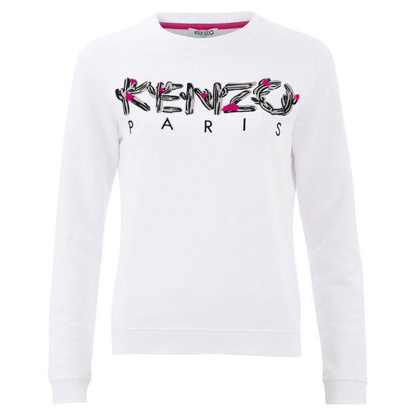 KENZO Women's Cactus Brushed Molleton Logo Sweatshirt