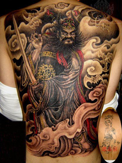 Tattoo Images Ideas Japanese Samurai Tattoo Back Back Tattoo Dragon Tattoo Pictures Shoulder Tattoos For Women