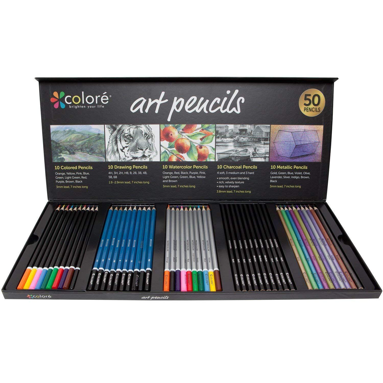 12x MINI COLOURING PENCILS Small//Short Children//Kids Drawing Art Sketch Crayons