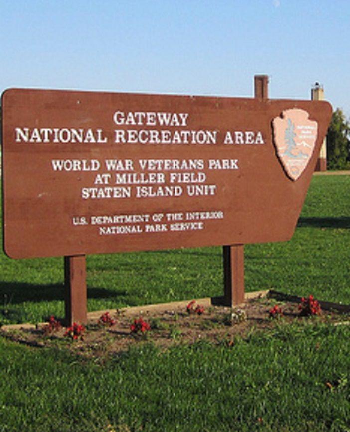 World War Veteran S Park At Miller Field Gateway National Recreation Area Staten Island New York It Wa Staten Island New York Recreation Area War Veterans