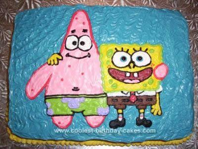 Spongebob Birthday Cakes 25