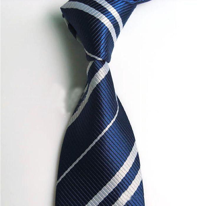 Men Classic Silk Jacquard Woven Suits Neck Tie Harry Potter Costume Accessory US