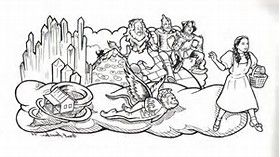 Emerald City Wizard Of Oz Coloring Pages Bing Images Coloring Pages Art Wizard Of Oz
