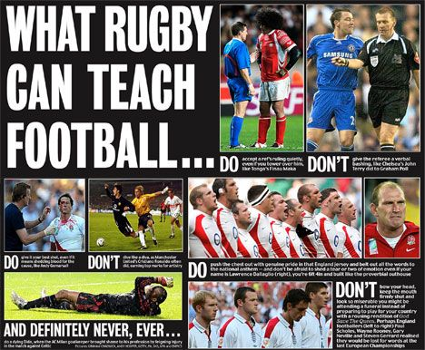 What Rugby Can Teach Football Rugby Rugby Vs Football Football