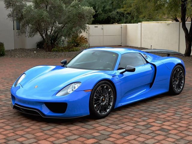 1 Of 1 Porsche 918 Spyder Voodoo Blue For Sale On Ebay Porsche 918 Porsche Voodoo Blue
