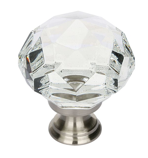 Emtek Products 860 Diamond Cabinet Knob   Knobs And Hardware