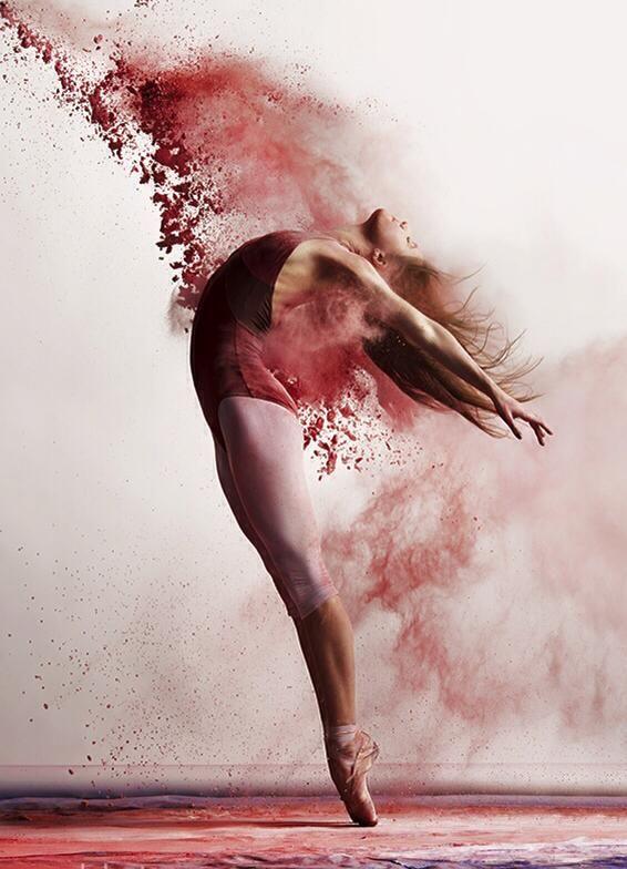 Dancer: Kate Byrne Photographer: Andy Bate