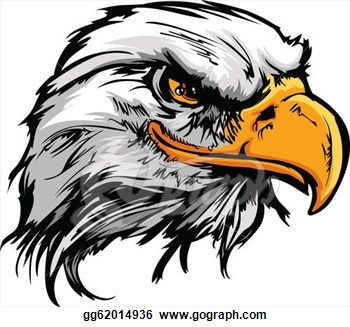 Eagles angry. Mean eagle clipart kid