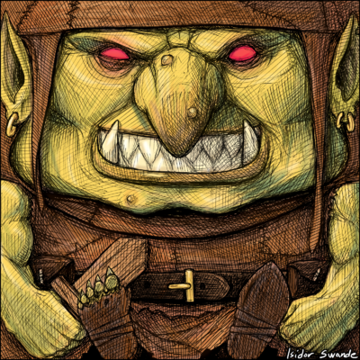 Art Block Goblin