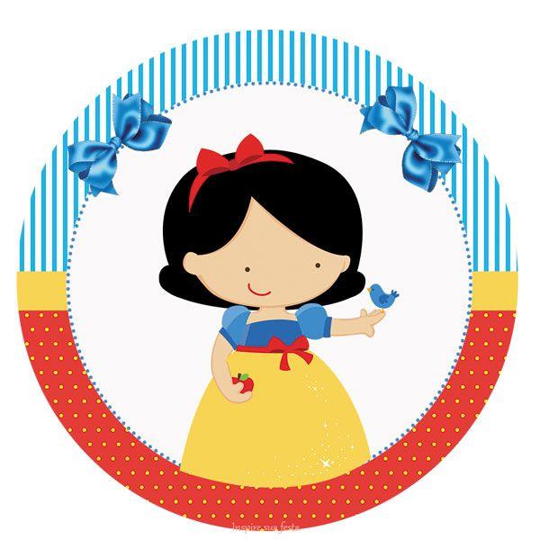 Branca De Neve Kit Festa Infantil Gratis Para Imprimir Branca