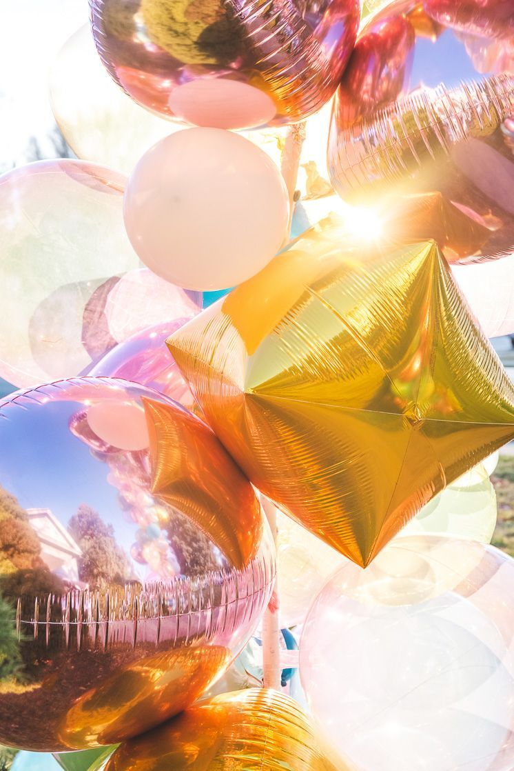 How to Make a Foil Balloon Arch #balloonarch How to Make a Mylar Balloon Arch #balloonarch