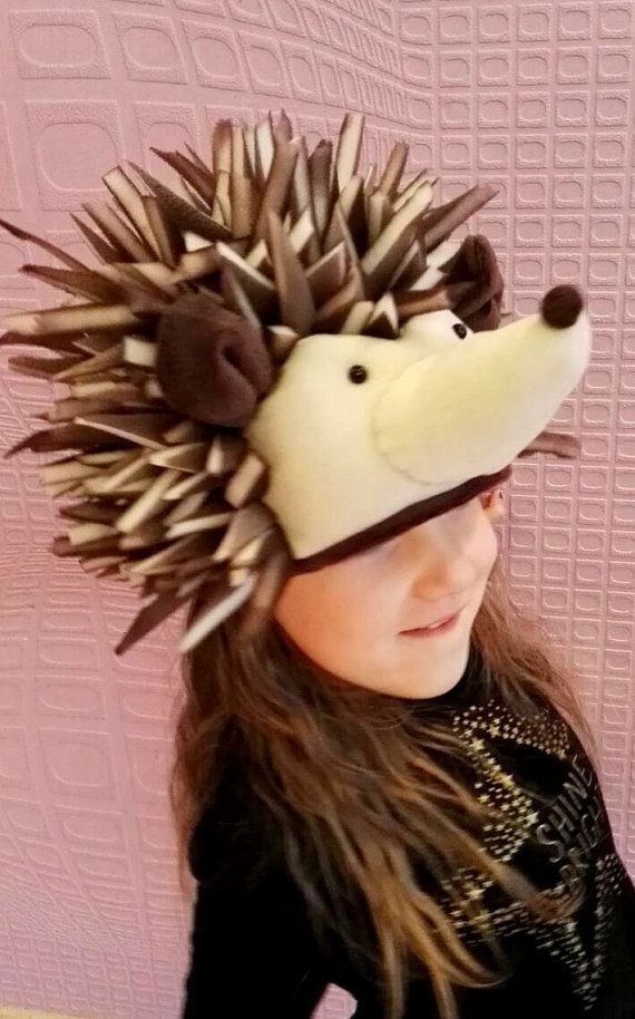 Hedgehog hat costume   Kids Costume   Adult Costume   hedgehog dress ... b948d1b844e