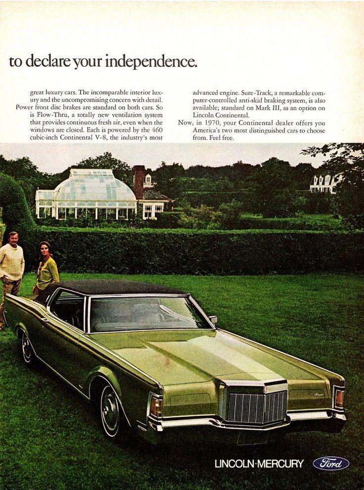 american classic cars lincoln continental u0026 continental mark iii ad pg 2 classiccars ctauto