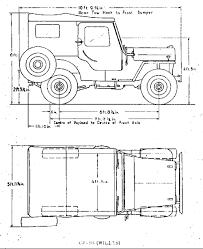 Resultado De Imagen Para Willys Jeep Dimensions Vykresy