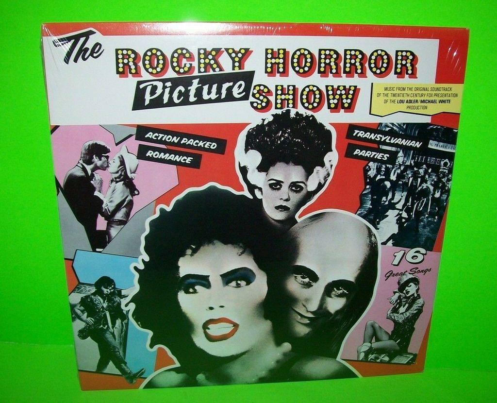 The Rocky Horror Picture Show Original 1975 Vinyl LP