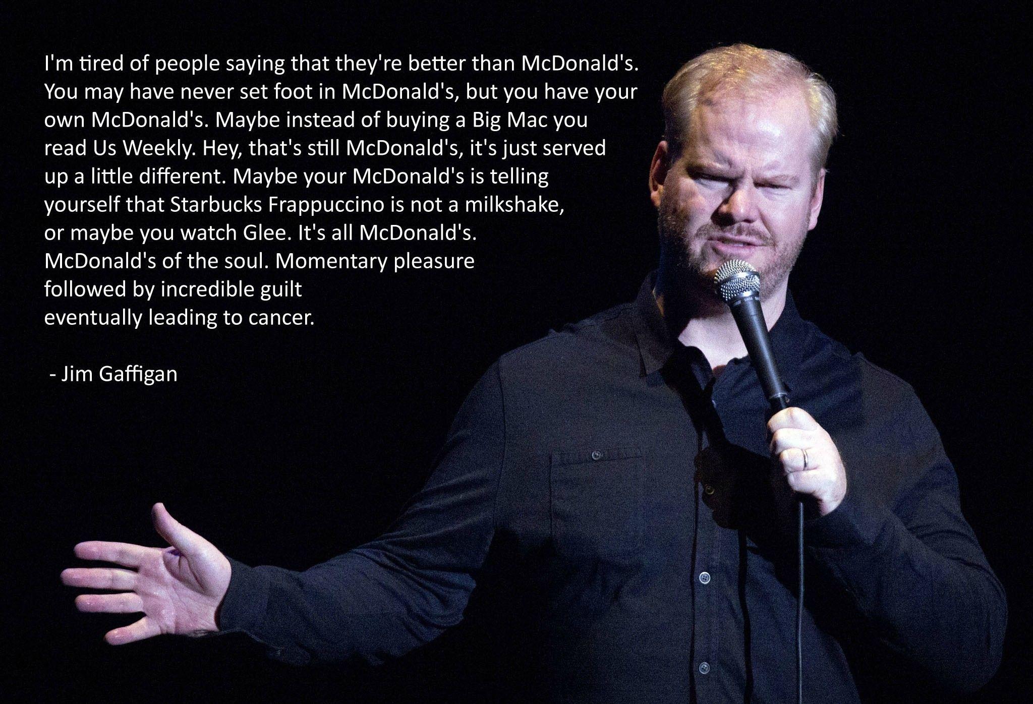 It S All Mcdonald S Funny Comedians Comedian Quotes Comedians