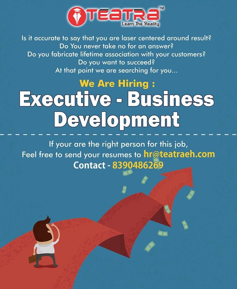 Urgent Requirement Business Development Executive Experience 0 3