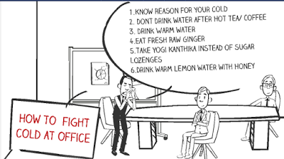Fight Cold at Workplace: Hey Friends,  I am sure every working guy will sur...
