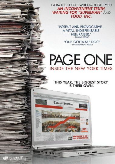 Page One: Inside the New York Times, Andrew Rossi, 2011 // A complex view of the transformation of a media landscape.