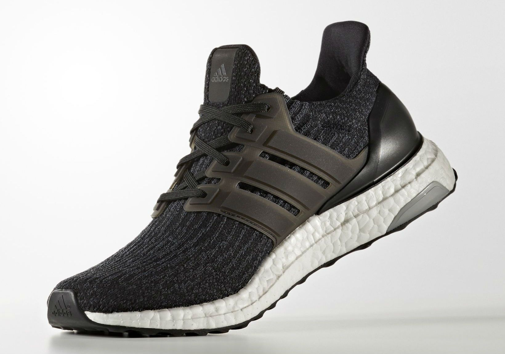 buy online 814c2 84a75 adidas Ultra Boost 2017 Black Front BA8842