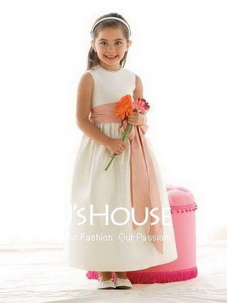 c7e83130b40 Little Bride Satin Flowers