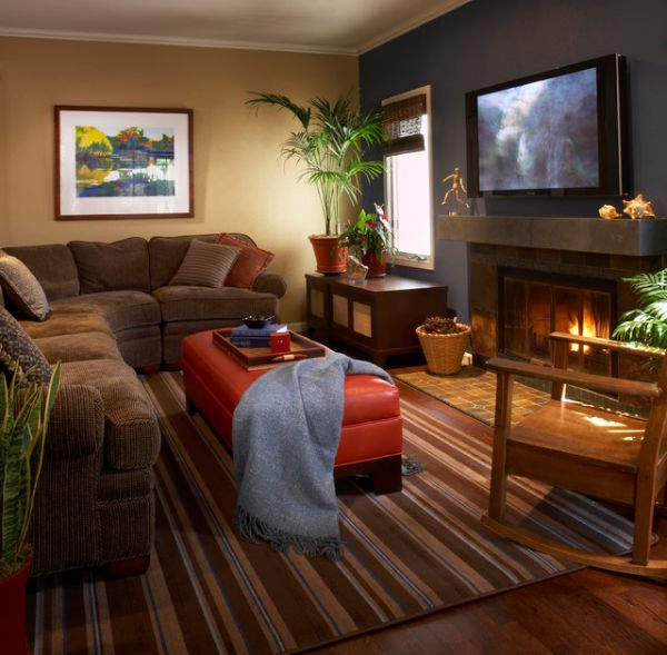 Great Furniture Arrangements For An L Shaped Living Room Small