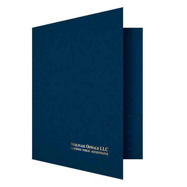 Design Molinari Oswald CPA File Presentation Folder Tax Return - resume presentation folder