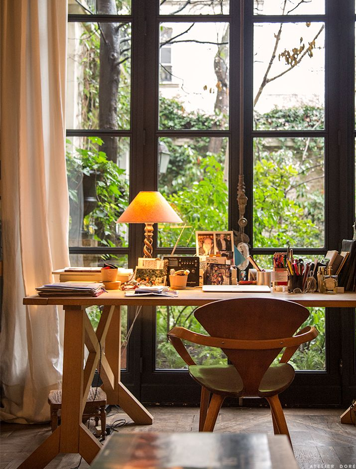 At home with marie france atelier france and interiors - Maison style atelier ...