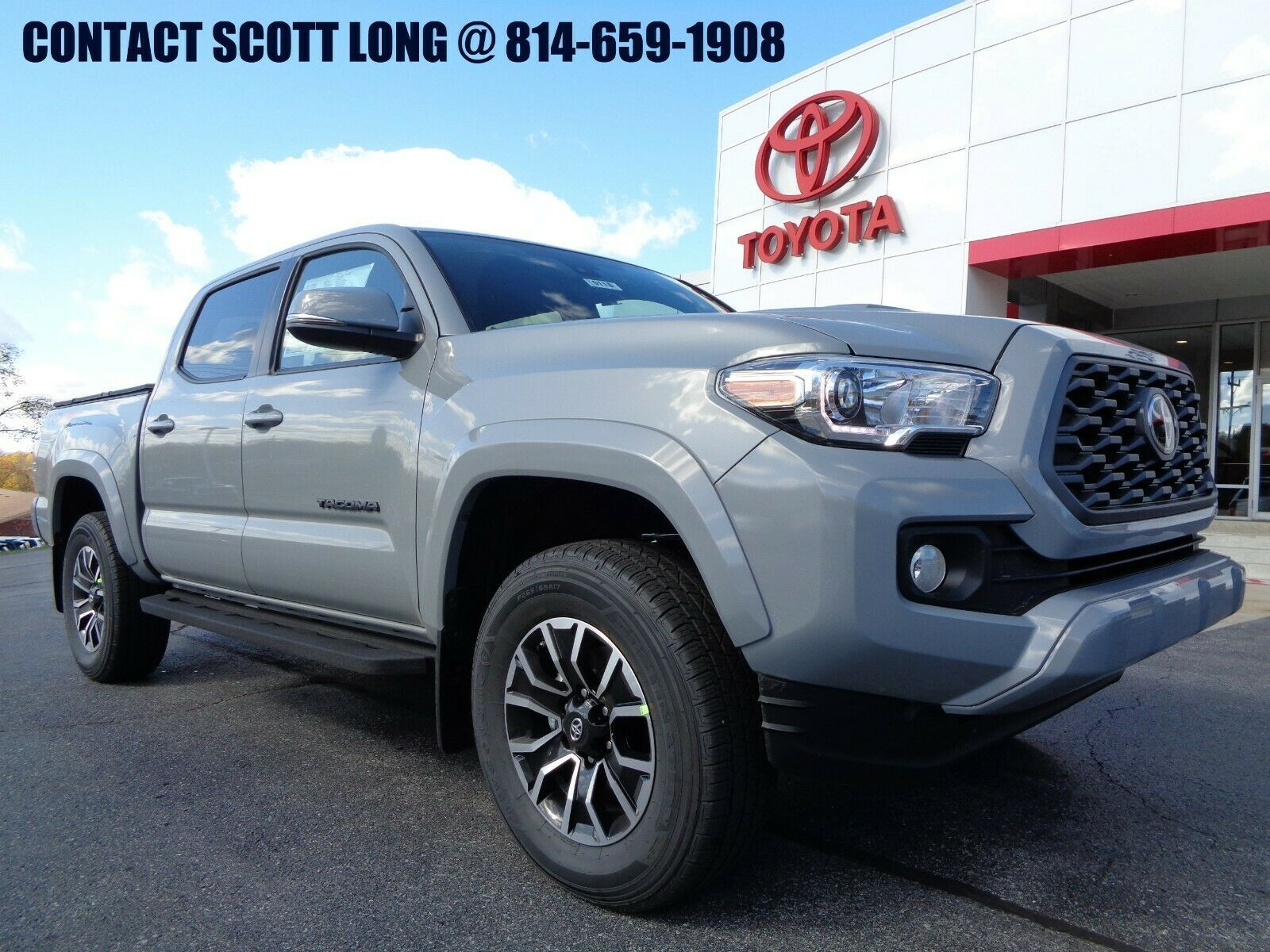 Used 2020 Toyota Tacoma New 2020 Double Cab 4 4 3 5l 4wd Trd Sport New 2020 Tacoma Double Cab 4 4 Trd Sport Premium Applecarplay Tonneau 4wd Cement 2020 In 2020 Toyota Tacoma Toyota Tacoma Double Cab Toyota