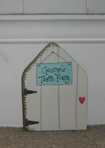 PERSONALISED TOOTH FAIRY DOOR FOR SKIRTING BOARD OR MOUSE HOLE DOOR & PERSONALISED TOOTH FAIRY DOOR FOR SKIRTING BOARD OR MOUSE HOLE DOOR ...
