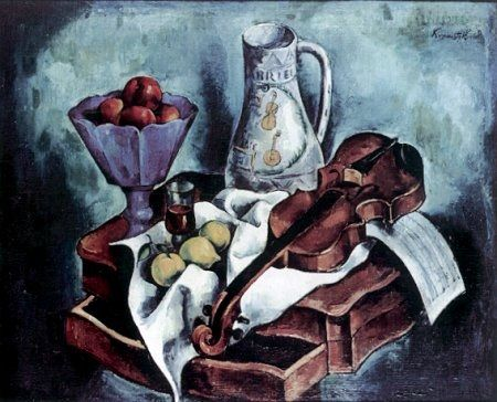 Roman Kramsztyk - Still Life with Violin