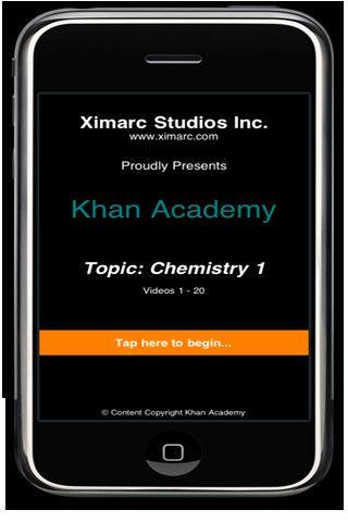 Khan Academy Chemistry 1 App Contains Khan's Chemistry