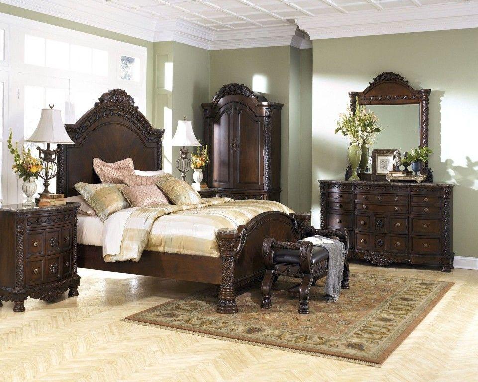 Ahley North Shore Sleigh Bedroom Set