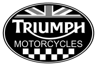 Triumph Oval With British Flag Decal Sticker 32 Triumph Triumph Logo Flag Decal