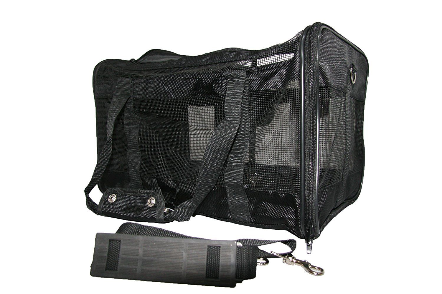 Mr. Peanut's Airline Approved Soft Sided Pet Carrier with
