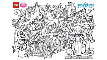 Activities Lego Coloring Pages Lego Coloring Sheet Frozen Coloring Pages