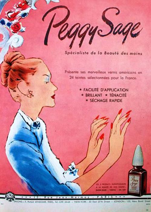 Nailsbystephanie 7 Vintage Nail Polish Ads