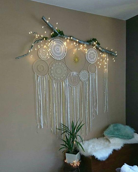 Diy Dream Catchers To Decor Your Bedroom Dream Catcher Decor Diy Wall Decor For Bedroom Dream Catcher Diy