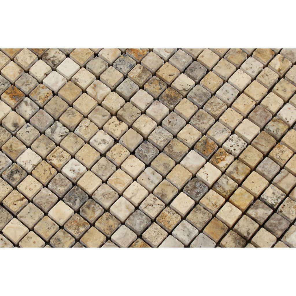 x philadelphia travertine tumbled mosaic tile mosaic tiles
