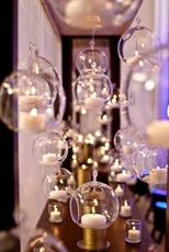 Hanging Glass Globe Terrarium Candle Holders Wholesale Wedding